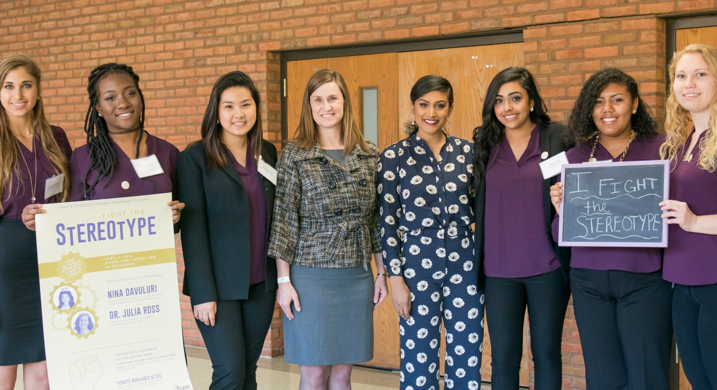 "Society of Women Engineers hosts former Miss America for ""Fight the Stereotype"" event"