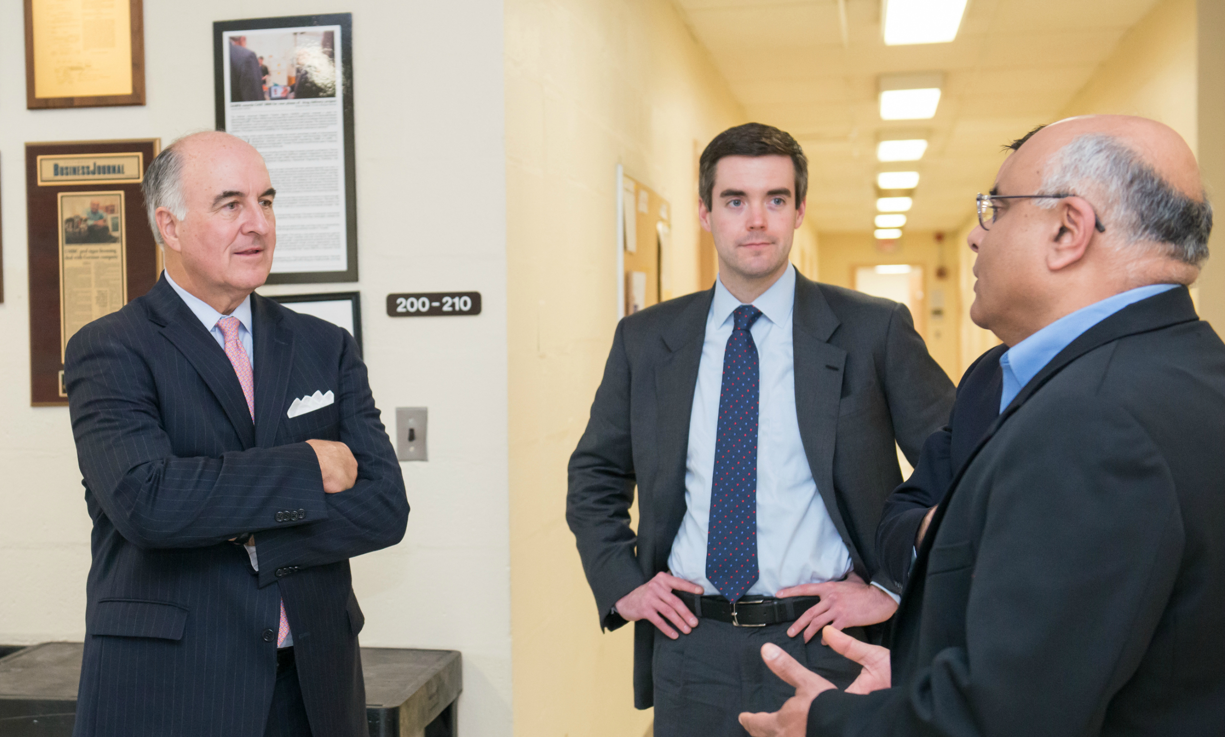 Maryland Sec. of Commerce Mike Gill focuses on growth of UMBC research during campus visit