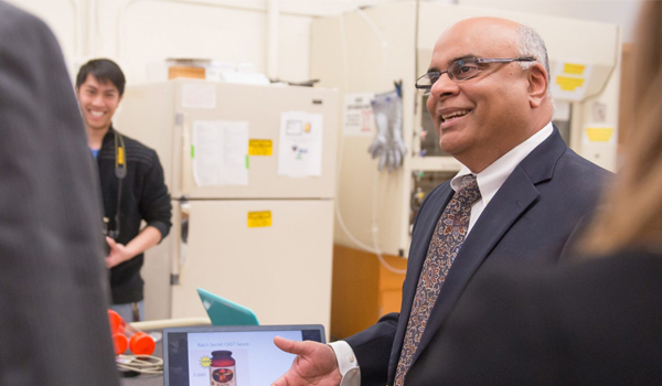 Govind Rao receives 2017 Pioneer Award for technologies that empower patients and save lives