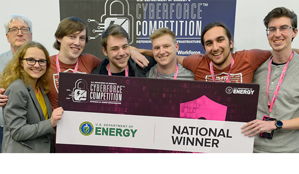UMBC Cyber Dawgs are named CyberForce national champions