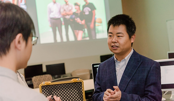 UMBC's Jiaqi Gong receives $1M NIH grant for wearable sensor to help breast cancer survivors maintain complex medication schedules