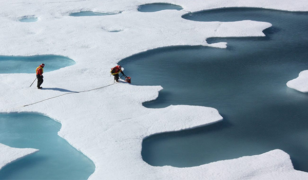 UMBC researchers speed up analysis of Arctic ice and snow data through AI